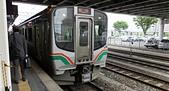 乗り物:7番線, JR 山形駅, 山形市, 山形県. 2014/05/25.