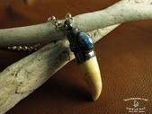 NAVAJO銀飾:海豚牙磷灰墜飾-1.JPG