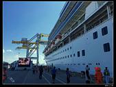 (藍寶石公主號 ):郵輪沖繩碼頭