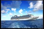 (藍寶石公主號 ):郵輪接駁海上航程
