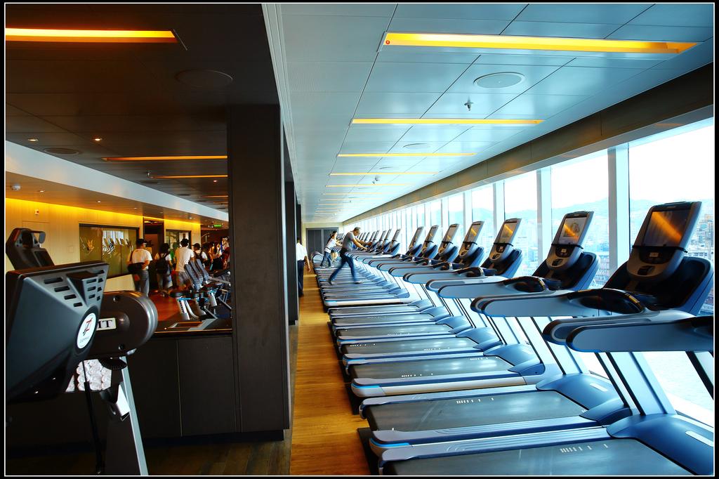 (盛世公主號):17樓健身中心