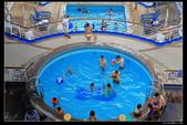 (藍寶石公主號 ):郵輪後米老鼠泳池