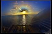 (藍寶石公主號 ):郵輪日出日落