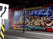 照片:granville isalnd 的畫牆
