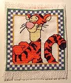 手工藝品:Winne the pooh 裡的tiger