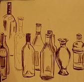 畫作~♡:空瓶子