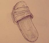畫作~♡:拖鞋