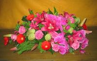 粉百合蝴蝶蘭盆花 - 盆花