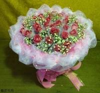 33朵紫天王花束設計 - 情人節花束