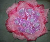 玫瑰精油皂珠串花束設計 - 手工玫瑰精油皂