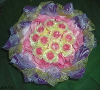 紅玫瑰精油皂花束 - 手工玫瑰精油皂