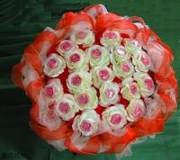 22朵紅玫瑰精油皂花束 - 手工玫瑰精油皂