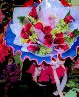 紅海芋初雪草花束 - 花束