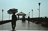 淡水陰天一日遊:漁人碼頭...