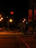 內湖夜景:紅月-3