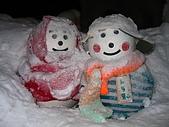 20060728北海道:007互相依偎的雪人娃娃,幸福又可愛.jpg