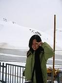 20070423立山黑部:雪璧到了,剛開始,眼睛張不開