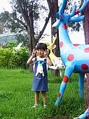 20070610雨天白河:這鹿很可愛勒