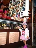 20060901小寶寶遊油車寮:這火車餅還不錯啦