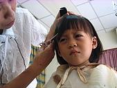 20070805放暑假:第一次到理髮店剪頭髮