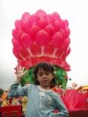 20100227 嘉義燈會 w/ 媽咪同事:花燈好大好漂亮