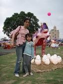 20100227 嘉義燈會 w/ 媽咪同事:恐龍來了