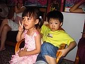 20070603表姨歸寧:人多椅子不過,我和表哥同坐一張