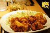 新宿--史克威爾展示中心半日遊:やよい軒雞揚特餐.JPG