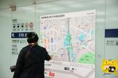 新宿--史克威爾展示中心半日遊:車站附近路線圖.JPG