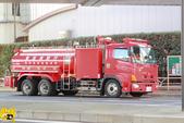 新宿--史克威爾展示中心半日遊:東京消防車.JPG