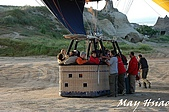 2009 熱氣球@Cappadocia (土耳其):準備升空囉!(12人座的藤籃)