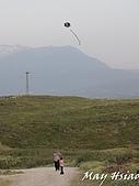 2009 Pammukalle不同的風光(土耳其):小朋友見到風箏越飛越高,便興奮的跑了起來