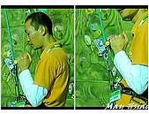 Blog 阿哩阿雜照片:練小祁示範釋放器的操作
