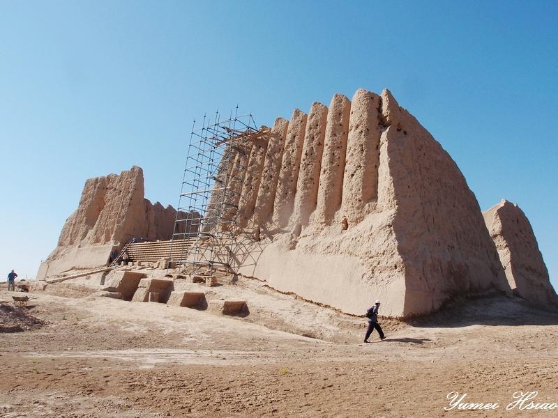 中亞大絲路五國 (2015):默伏古城/吉茲卡拉城堡