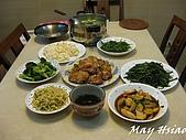2009/06/27國中同學聚會:今天豐盛的菜餚