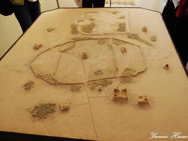 中亞大絲路五國 (2015):默伏古城還原模型