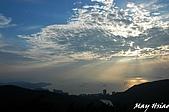 2008/10 香港+江西廬山旅行:香港/太平山夕陽