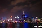 2008/10 香港+江西廬山旅行:香港/維多利亞港夜景