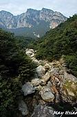 2008/10 香港+江西廬山旅行:江西廬山/三疊泉沿途