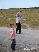 2009 Pammukalle不同的風光(土耳其):放風箏家庭