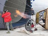 2009 熱氣球@Cappadocia (土耳其):加熱中的熱氣球