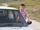2009 Pammukalle不同的風光(土耳其):放風箏家庭之小男孩