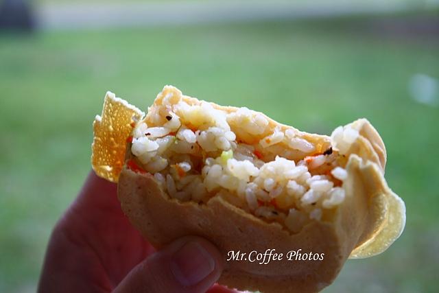 啥米!蛋炒飯也能包紅豆餅