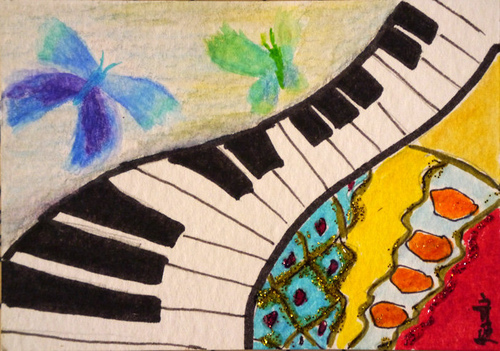 music and Butterfly 1