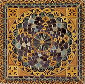 一順磁磚-5地毯花.配色磚:A孔雀藍125x125.jpg