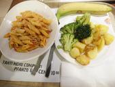 2015.2.28~3.8@義大利(DAY3):百里香起司筆尖麵(5.2歐)+烤蔬菜(3.9歐)+香蕉(1.1歐)