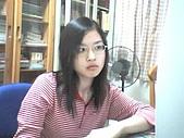 Webcam自拍:嘿,我都是這副兇相嚇走男生XD