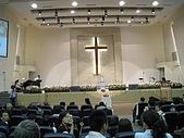 2009.4.5@書婷婚禮:台南聖教會之超壯觀的禮堂會場!