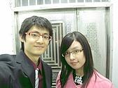 2009.4.5@書婷婚禮:到了家門口才發現忘記來張合拍