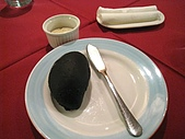 2008.12.20@LUCCA義風廚房:前菜-墨魚麵包佐橄欖醬